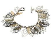 Charmed Leaf Bracelet