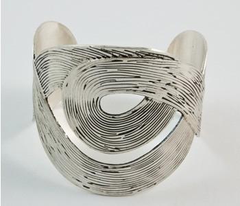 Silver Metal Cuff