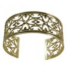 Thin Antique Gold Cuff