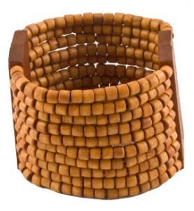 Light Brown Beaded Bracelet