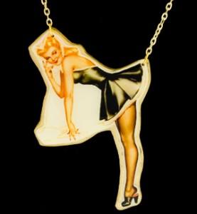 Pin Up (Black Dress)