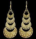 Long Gold Earrings