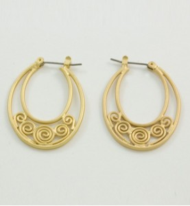 Ovals with Swirls