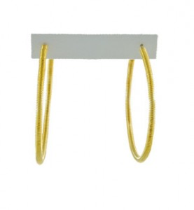 Gold Spring Hoops