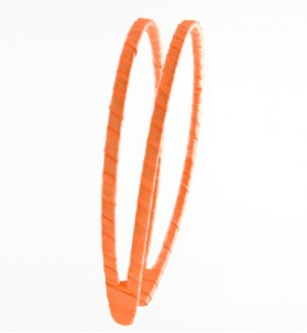 Orange Ribbon Double