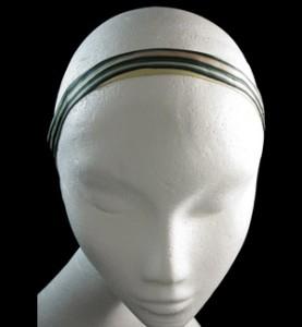 Striped Satin Headband