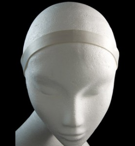 White Satin Headband