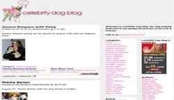 Celebrity Dog Blog