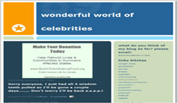 Wonderful World of Celebrities